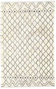 Kilim Ariana Rug 200X310 Authentic  Modern Handwoven Beige/Light Grey (Wool, Afghanistan)