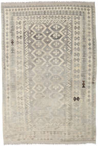 Kilim Afghan Old Style Rug 167X251 Authentic  Oriental Handwoven Light Grey/Light Brown (Wool, Afghanistan)