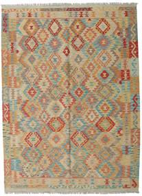 Килим Афган Старый Стиль Ковер 178X244 Сотканный Вручную Светло-Коричневый/Коричневый (Шерсть, Афганистан)