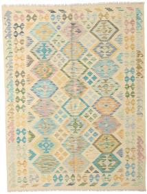 Kilim Afghan Old Style Rug 151X201 Authentic  Oriental Handwoven Beige/Dark Beige (Wool, Afghanistan)