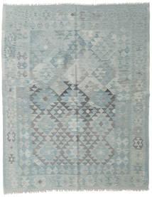 킬림 아프가니스탄 올드 스타일 러그 163X203 정품 오리엔탈 수제 라이트 그레이/라이트 블루 (울, 아프가니스탄)