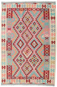 Kilim Afghan Old Style Rug 123X184 Authentic  Oriental Handwoven Light Pink/Light Brown (Wool, Afghanistan)