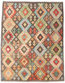 Kilim Afegão Old Style Tapete 153X194 Oriental Tecidos À Mão (Lã, Afeganistão)
