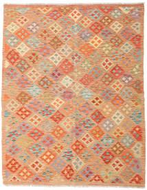 Kilim Afegão Old Style Tapete 159X202 Oriental Tecidos À Mão (Lã, Afeganistão)