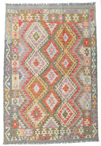 Kilim Afghan Old Style Rug 119X173 Authentic  Oriental Handwoven Light Brown/Light Grey (Wool, Afghanistan)