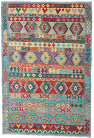 Kilim Afghan Old Style Rug 176X260 Authentic  Oriental Handwoven Light Grey/Brown (Wool, Afghanistan)