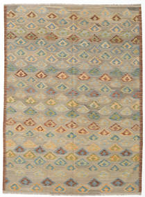 Kilim Afghan Old Style Rug 166X230 Authentic  Oriental Handwoven Light Brown/Light Grey (Wool, Afghanistan)