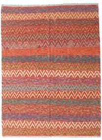 Kelim Afghan Old Style Matta 176X232 Äkta Orientalisk Handvävd Mörkröd/Roströd (Ull, Afghanistan)