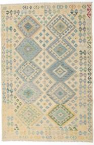 Kilim Afghan Old Style Rug 166X249 Authentic  Oriental Handwoven Dark Beige/Light Grey/Beige (Wool, Afghanistan)