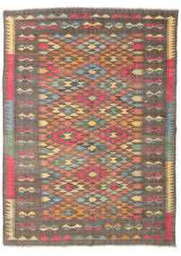 Kilim Afghan Old Style Rug 178X242 Authentic  Oriental Handwoven Brown/Light Brown (Wool, Afghanistan)