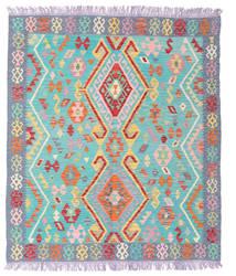 キリム アフガン オールド スタイル 絨毯 156X180 オリエンタル 手織り (ウール, アフガニスタン)