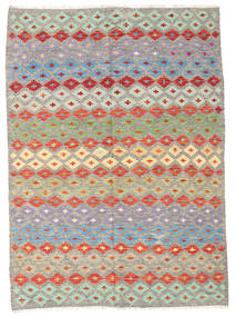 Kilim Afghan Old Style Rug 167X230 Authentic  Oriental Handwoven Light Grey/Beige (Wool, Afghanistan)