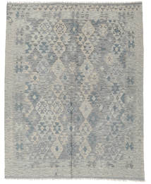 Kilim Afghan Old Style Rug 188X236 Authentic  Oriental Handwoven Light Grey (Wool, Afghanistan)