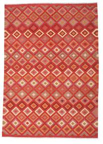 Kilim Afghan Old Style Rug 206X292 Authentic  Oriental Handwoven (Wool, Afghanistan)