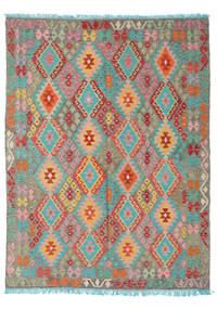 Kelim Afghan Old Style Teppe 180X237 Ekte Orientalsk Håndvevd (Ull, Afghanistan)