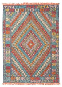 Kilim Afghan Old Style Rug 177X242 Authentic  Oriental Handwoven Light Grey/Dark Grey (Wool, Afghanistan)