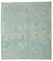Kelim Afghan Old Style Matto 261X290 Itämainen Käsinkudottu Isot (Villa, Afganistan)