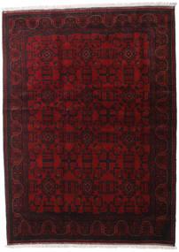 Afghan Khal Mohammadi Matta 176X238 Äkta Orientalisk Handknuten Mörkbrun/Mörkröd (Ull, Afghanistan)