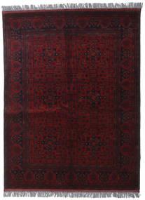 Afghan Khal Mohammadi Teppich  148X196 Echter Orientalischer Handgeknüpfter Dunkelrot (Wolle, Afghanistan)