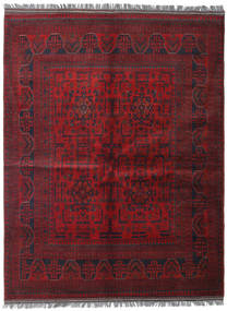 Afghan Khal Mohammadi Rug 152X198 Authentic  Oriental Handknotted Dark Red (Wool, Afghanistan)