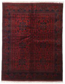 Afghan Khal Mohammadi Rug 151X193 Authentic  Oriental Handknotted Dark Red (Wool, Afghanistan)