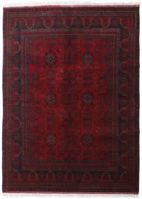 Afghan Khal Mohammadi Tæppe 175X237 Ægte Orientalsk Håndknyttet Mørkerød (Uld, Afghanistan)