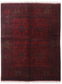 Afghan Khal Mohammadi Vloerkleed 150X195 Echt Oosters Handgeknoopt Donkerrood (Wol, Afghanistan)