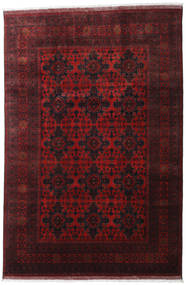 Afghan Khal Mohammadi Rug 199X296 Authentic  Oriental Handknotted Dark Red/Dark Brown (Wool, Afghanistan)