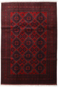 Afghan Khal Mohammadi Rug 204X298 Authentic  Oriental Handknotted Dark Red (Wool, Afghanistan)