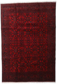 Afghan Khal Mohammadi Rug 202X293 Authentic  Oriental Handknotted Dark Red/Dark Brown (Wool, Afghanistan)