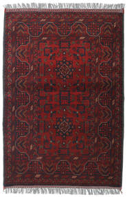 Afghan Khal Mohammadi Alfombra 105X150 Oriental Hecha A Mano Rojo Oscuro (Lana, Afganistán)