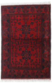 Afghan Khal Mohammadi Rug 102X150 Authentic  Oriental Handknotted Dark Red/Crimson Red (Wool, Afghanistan)