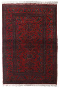 Afghan Khal Mohammadi Rug 102X147 Authentic  Oriental Handknotted Dark Red (Wool, Afghanistan)