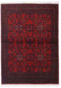 Afghan Khal Mohammadi Alfombra 101X140 Oriental Hecha A Mano Rojo Oscuro/Marrón Oscuro (Lana, Afganistán)