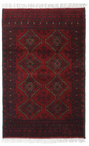 Афган Khal Mohammadi Ковер 76X116 Ковры Ручной Работы Темно-Красный (Шерсть, Афганистан)