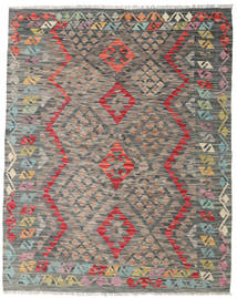 Kilim Afghan Old Style Rug 135X168 Authentic  Oriental Handwoven Light Grey/Dark Grey (Wool, Afghanistan)