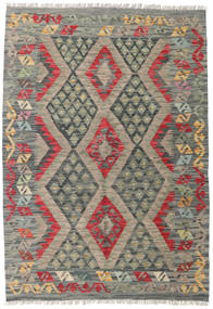 Kilim Afghan Old Style Rug 123X177 Authentic  Oriental Handwoven Dark Grey/Light Grey (Wool, Afghanistan)