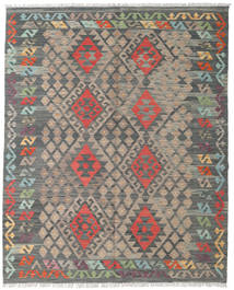 Kilim Afghan Old Style Rug 159X194 Authentic  Oriental Handwoven Dark Grey/Light Brown (Wool, Afghanistan)