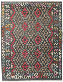 Kilim Afghan Old Style Rug 154X199 Authentic  Oriental Handwoven Dark Grey/Light Brown (Wool, Afghanistan)