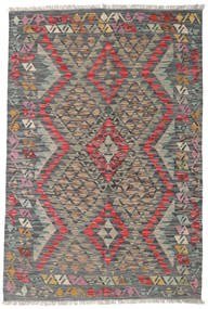 Kilim Afghan Old Style Rug 119X178 Authentic  Oriental Handwoven Dark Grey/Light Grey (Wool, Afghanistan)