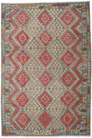 Kilim Afghan Old Style Rug 202X301 Authentic  Oriental Handwoven (Wool, Afghanistan)