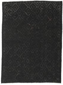 Kilim Afghan Old Style Rug 216X292 Authentic  Oriental Handwoven Black (Wool, Afghanistan)