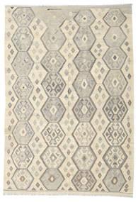 Kilim Afghan Old Style Rug 206X300 Authentic  Oriental Handwoven (Wool, Afghanistan)