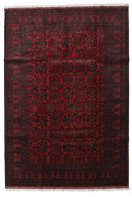 Afghan Khal Mohammadi Rug 204X293 Authentic  Oriental Handknotted Dark Brown/Dark Red (Wool, Afghanistan)