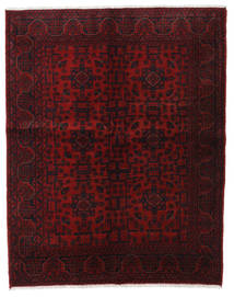 Afghan Khal Mohammadi Rug 153X193 Authentic  Oriental Handknotted Dark Red (Wool, Afghanistan)