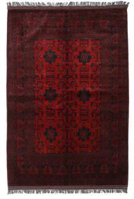 Afghan Khal Mohammadi Matto 165X236 Itämainen Käsinsolmittu Tummanruskea/Tummanpunainen (Villa, Afganistan)
