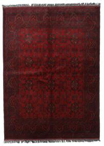 Afghan Khal Mohammadi Tæppe 174X240 Ægte Orientalsk Håndknyttet Mørkerød (Uld, Afghanistan)