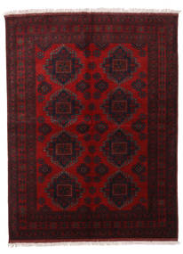 Afghan Khal Mohammadi Rug 174X229 Authentic  Oriental Handknotted Dark Brown/Dark Red (Wool, Afghanistan)