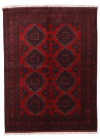 Afghan Khal Mohammadi Matta 174X229 Äkta Orientalisk Handknuten Mörkbrun/Mörkröd (Ull, Afghanistan)