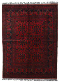 Afghan Khal Mohammadi Teppich  151X203 Echter Orientalischer Handgeknüpfter Dunkelrot (Wolle, Afghanistan)